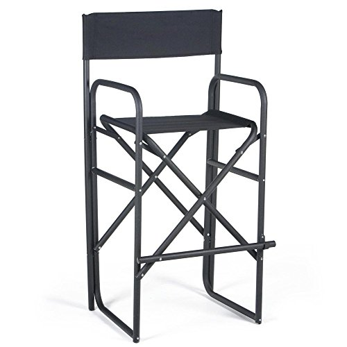 telescope casual heritage bar height director chair walnut finish