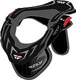 Fly Racing Velocity Neck Brace , Size: Sm/Md, Gender: Mens/Unisex, Primary Color: Black 360-7100