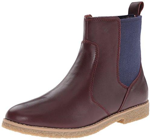 Tommy Hilfiger Women's Zita Chelsea Boot, Plum, 8.5 M US