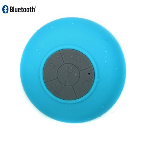 Oisound Waterproof Bluetooth Wireless Shower Speaker & Speakerphone For Iphone,Ipad,Atv, Baths, Swimming Pools, Boats,Jeep (Blue)