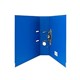 Blumberg Lever Arch 2-Ring Binders for Letter Size (Not A4) Documents (Blue)