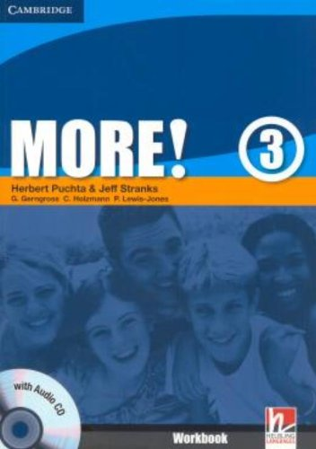 More!  3 Workbook with Audio CD: Level 3
