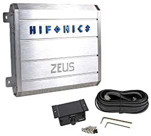 Hifonics Zeus ZRX1000.1D 1000W Mono Class D Car Audio Amplifier With 4-Way System Protection Circuitry