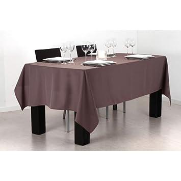 nappe anti taches 140 x x 240 cm chocolat cuisine maison m92. Black Bedroom Furniture Sets. Home Design Ideas