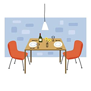 Retro Dining Room Wall Decal Without Border 21 5 X 22 In Wall Decor Stick
