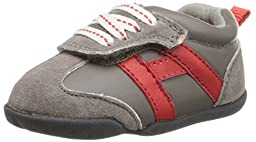 Carter\'s Every Step Oldie-BS Boys Athletic Shoe (Infant/Toddler), Dark Grey, 4.5 M US Toddler