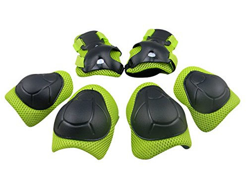 Panegy-Kids-Youth-Protective-Gear-Safety-Pad-Safeguard-Knee-Elbow-Wrist-Roller-BMX-Bike-Skateboard-Hoverboard-Protector-6pcs