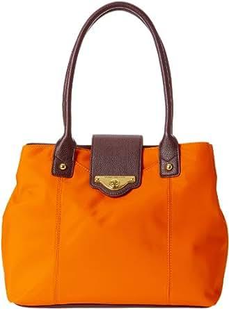 Tommy Hilfiger Masters Nylon 6921686 Travel Tote,Orange,One Size