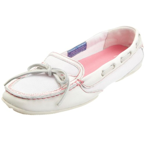 Rockport Women's Shore Bets Boat Shoe Winter White Moccasin K56303 7 UK