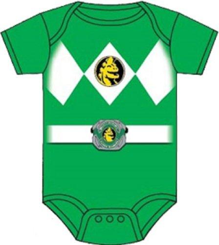 Power Rangers Baby Ranger Costume Romper Onesie (12-18 Months, Green) Color: Green Size: 12-18 Months Model: (Power Ranger Model compare prices)