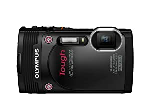Olympus  Stylus TG-850 IHS 16 MP Digital Camera (Black)