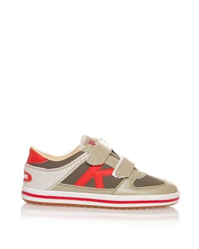 Kelme Zapatillas Luo Marrón / Rojo