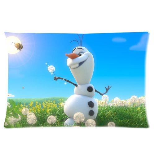 Cute Olaf Pillow : Awardpedia - Frozen Disney 3D Cartoon Custom Rectangle Pillow Cases 16x24 (one side)