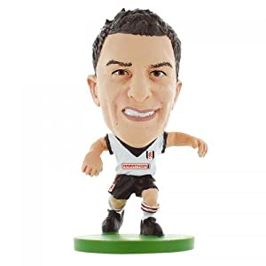 Fulham F.C. SoccerStarz Hughes- Aaron Hughes- soccerstarz figure- 2 inches tall- with collectors card- in blister pack- Official Football Merchandise by Limited Stock / Collectables