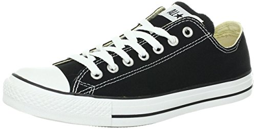 Converse Men's Chuck Taylor All Star Sneaker M9166 Black 10 M US