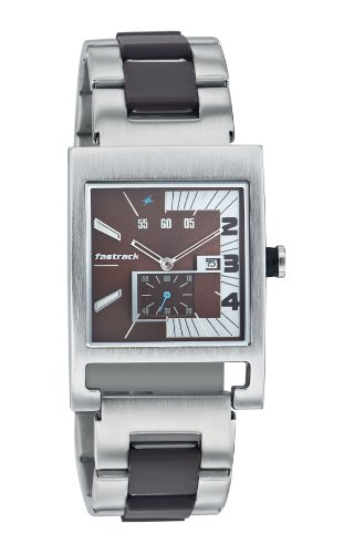 Fastrack Party Analog Brown Dial Mens Watch - NE1478SM02