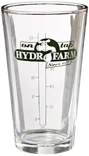 Vasetto / Graduato Dosificatore di vetro Hydrofarm (400ml)