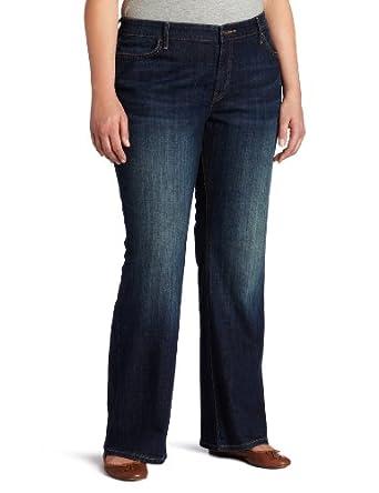 Levi's Women's Plus-Size 590 Bootcut Jean, Oceana, 16 W Short