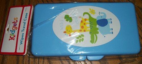 Blue Baby Wipe Holder - 1