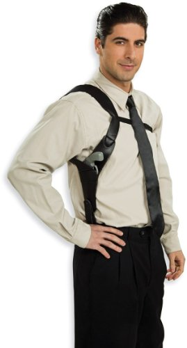 Rubie's Costume Shoulder Holster Costume, Black, One Size
