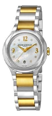 Baume & Mercier Women's 8774 Iliea Diamond Watch by Baume & Mercier