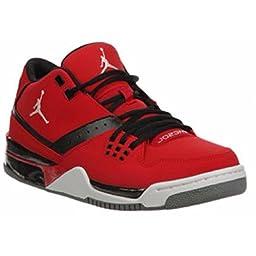 Nike Jordan Men\'s Jordan Flight23 Gym Red/White/Black/Cool Grey Basketball Shoe 9.5 Men US