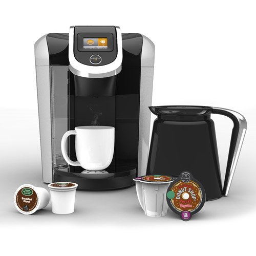 Learn More About Keurig 2.0 K400 Coffee Brewing System with 4 Cup Carafe. Keurig Coffee Makers are T...