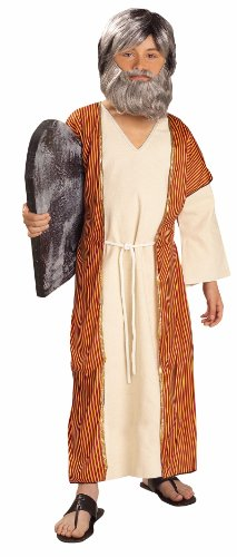 Lets Party By Forum Novelties Inc Moses Child Costume / Brown - Size Small 4-6