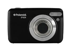 """Polaroid IF424 14 Megapixel Kompakt-Digitalkamera - Schwarz (2.4 """"Screen, 4-fach optischer Zoom)"""