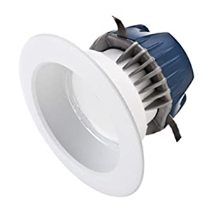 575 Lumens - 50W Equal - 9.5W LED - GU24 Base - Downlight - Fits 4 in. Can Light - Incandescent Color - Cree CR4-575L-27K-12-GU24