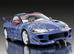 Revell-Monogram 1/25 1999 Mitsubishi Eclipse Tuner Series Kit