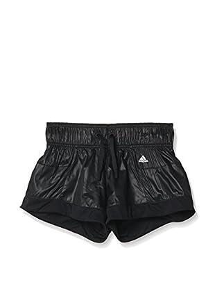 adidas Short Wardrobe Style Kinder (Negro / Blanco)
