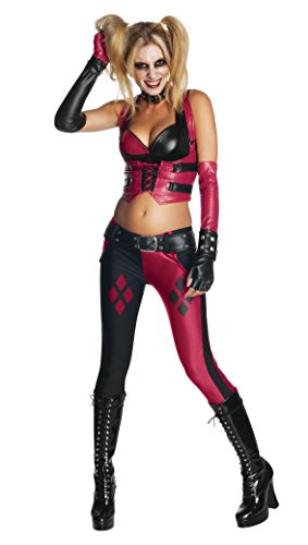 Arkham City Adult Harley Quinn Costume