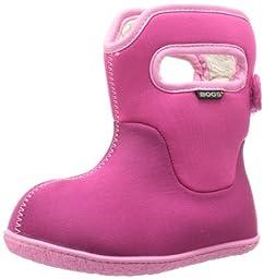 Bogs Kids Waterproof Rain Boot (Toddler),Cherry,6 M US Toddler