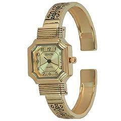Rose Gold Cuff Watch