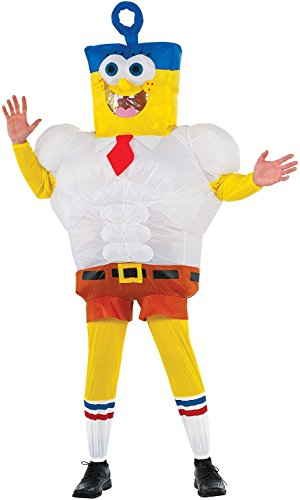 Men's SpongeBob Movie Inflatable Costume