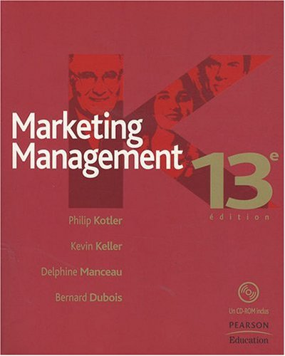 Marketing Management (1Cédérom)