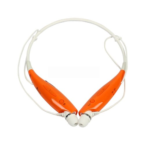 Belpair Universal Wireless Bluetooth Handsfree Headset Earphone For Iphone Samsung And All Bluetooth Devices (Orange)