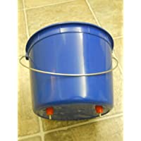 2.5 Quart Chicken - Poultry waterer - drinker W/ 2 nipples - By BAFX Brands