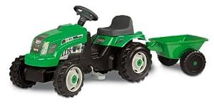 Smoby 33329 - Tractor Gm Verde Con Remolque