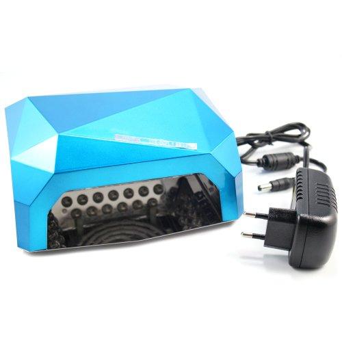 New Arrival 2014 Prefect Summer Pro 18W (12W Ccfl+6W Led) Led Uv Gel Lamp Light Curing Acrylic Nail Gel Nail Polish Dryer 110V-240V Voltage (Blue)