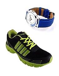 Elligator Sports Shoes With Lotto Blue Watch - B00WSA5U1Y
