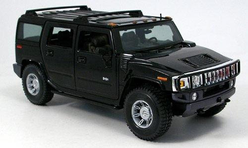 hummer-h2-suv-schwarz-2002-modellauto-fertigmodell-maisto-118