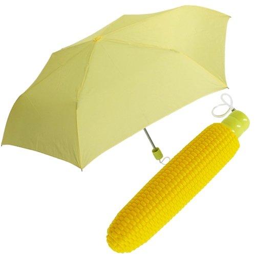 [傘]コーンブレラ/とうもろこし型折りたたみ傘 おもしろ雑貨 通販