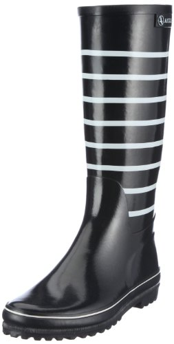 Aigle Women's Careline Marine Navy/White Wellingtons Boots 375824 3.5 UK, 36 EU