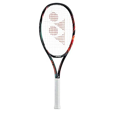 Yonex Vcore Duel G 100 Black and Orange Unstrung Tennis Racquet- L G4 3/8