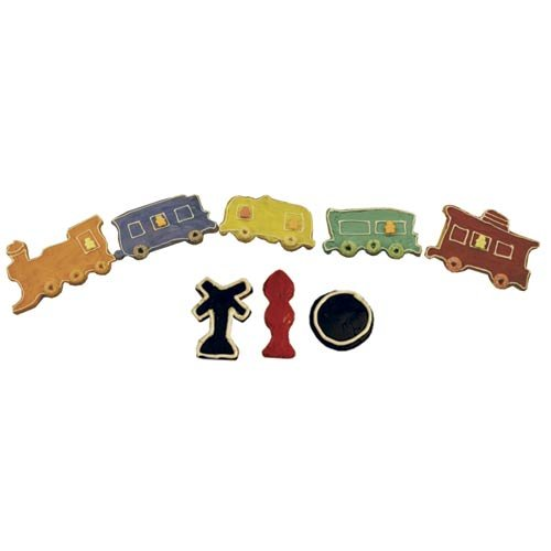 R & M Train 8 Piece Cookie Cutter Set