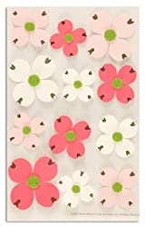Martha Stewart Crafts Stickers Dogwood Pink/Red/White By The Package