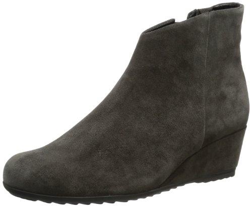 Gabor Shoes Womens Gabor Comfort Boots Gray Grau (dunkelgrau (Micro)) Size: 7 (40.5 EU)