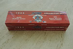 1988 Score Baseball Trading Card Factory Set by SCORE